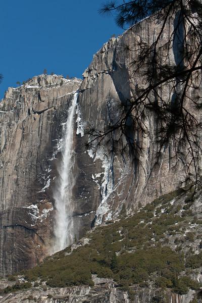 Yosemite Upper Fall<br /> Yosemite NP, CA