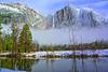 Yosemite Valley Fog<br /> Yosemite NP, CA