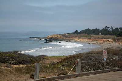 Viewpoint where 2 ships ran aground