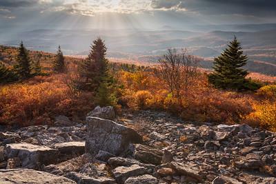 Spruce Knob - Oct 4 2014