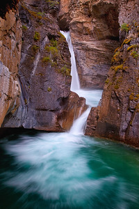 Upper Johnston Canyon Falls