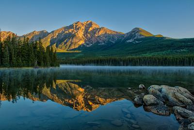 Early Morning at Pyramid Lake