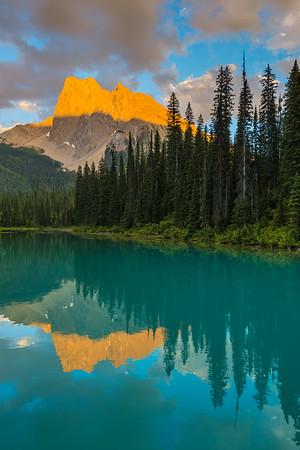 Burgess Mountain Reflection