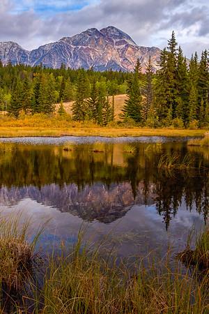 Pond Near Pyramid Lake