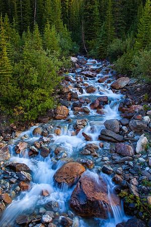Icefields Parkway Summer Stream
