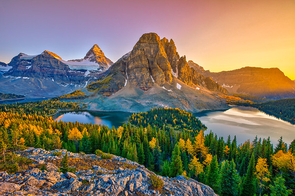 Mt. Assiniboine Sunset