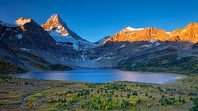 Mount Assiniboine Autumn Sunrise