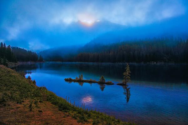 Two Jack Lake Sunrise