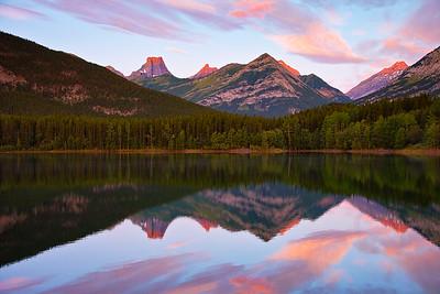 Wedge Pond Early Sunrise
