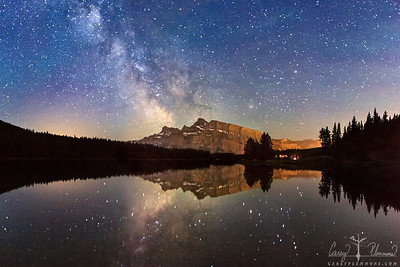 Mt Rundle Reflections