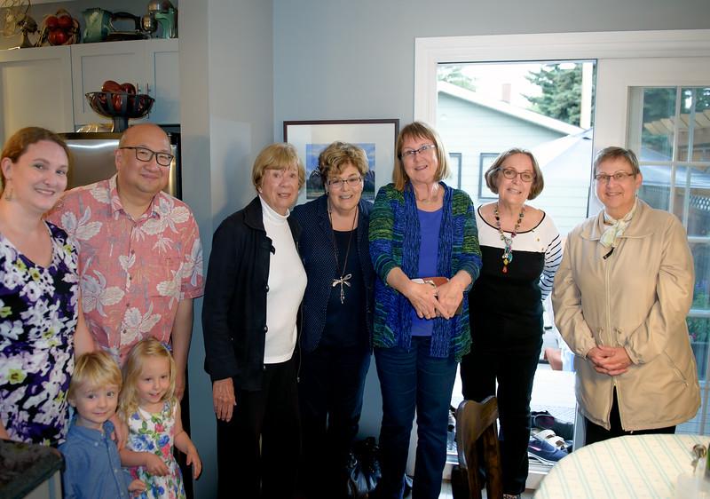2016 Canadian Peony Show Committee Members from Calgary Alberta