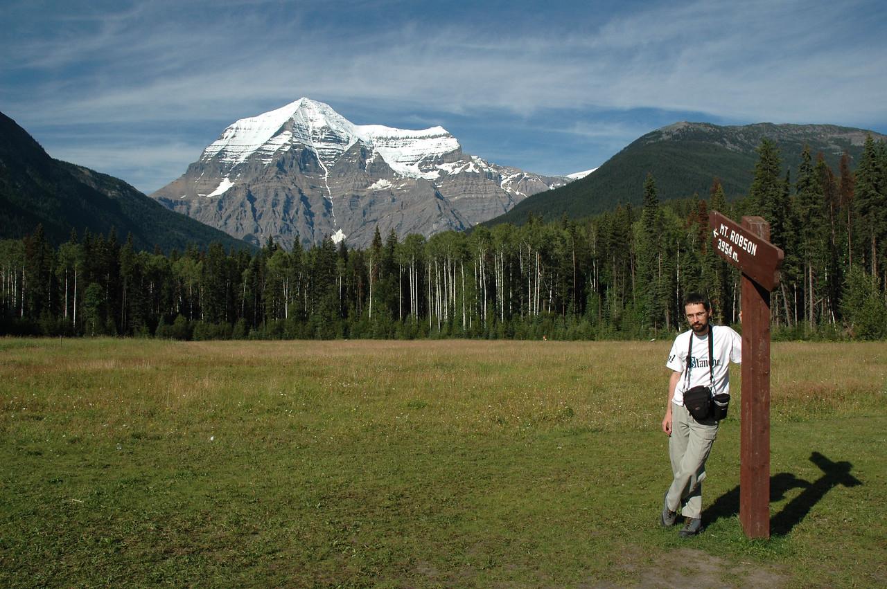 Near Mount Robson (3954 m)