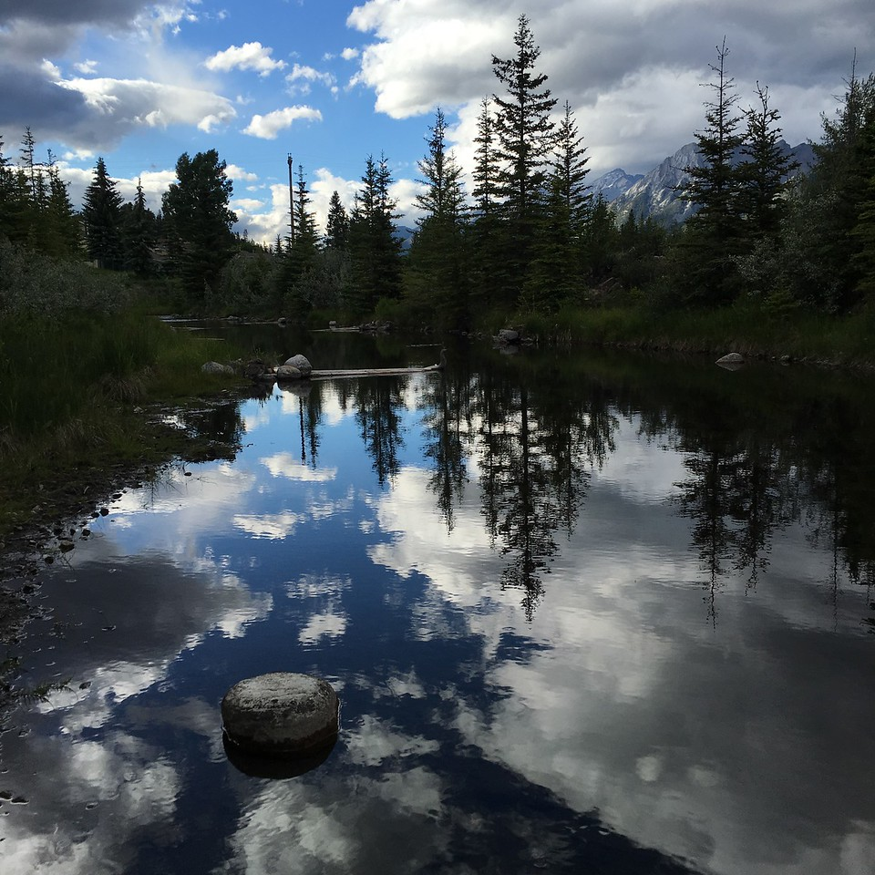 Canmore reflections
