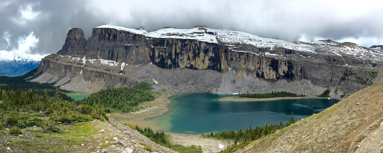 Rockbound Lake and Castle Mountain