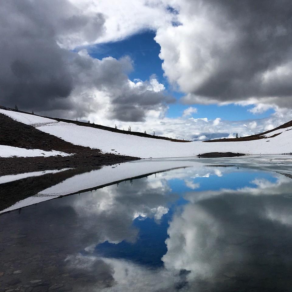 Reflections near Harvey Pass