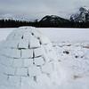 Iglu near Banff