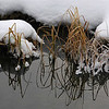 Snow & water art