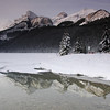 Lake Louise, with a graduated density filter