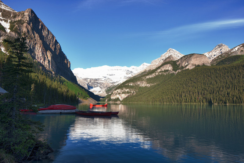 Lake Louise Boat Dock