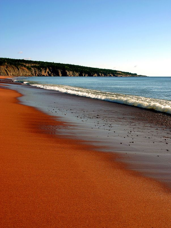 Red beach<br /> <br /> So red!