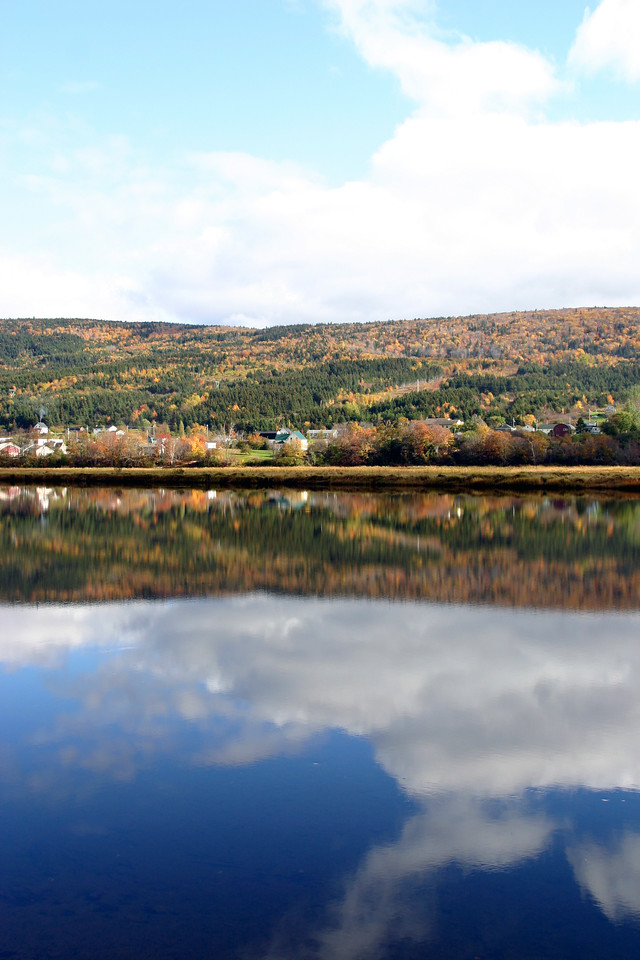 Sky, Montain and Water<br /> <br /> The second time in Cape Breton, but the first in Fall. Its color is unbelievable