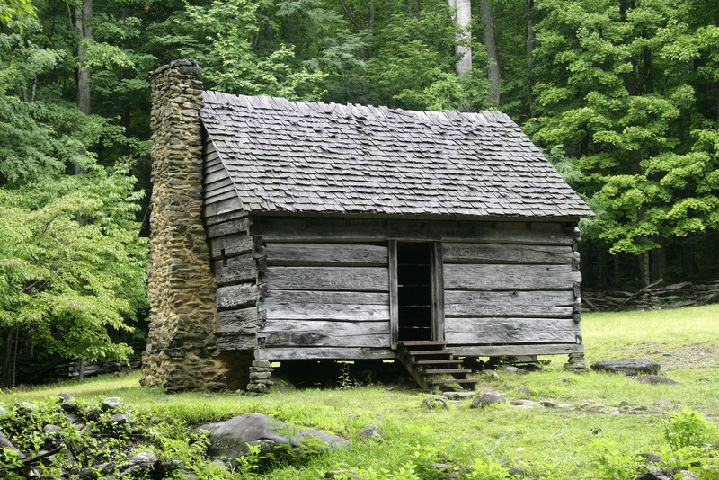 Log Cabin, Smoky Mountain Style.