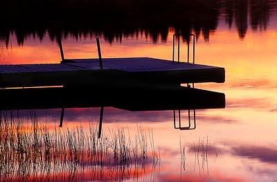 Starlike lake