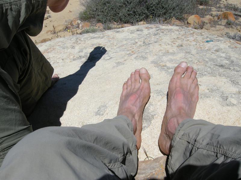 Mmmm, barefoot is good!