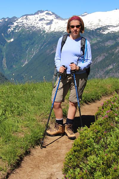 Badass hiker.