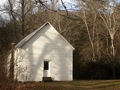 One room schoolhouse from the turn of the century