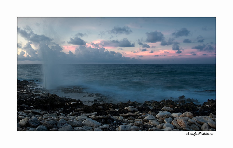"Sunrise Grand Cayman Island ""The Blow Holes"""