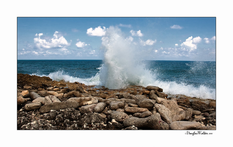"""Blow Holes"" Grand Cayman Island"