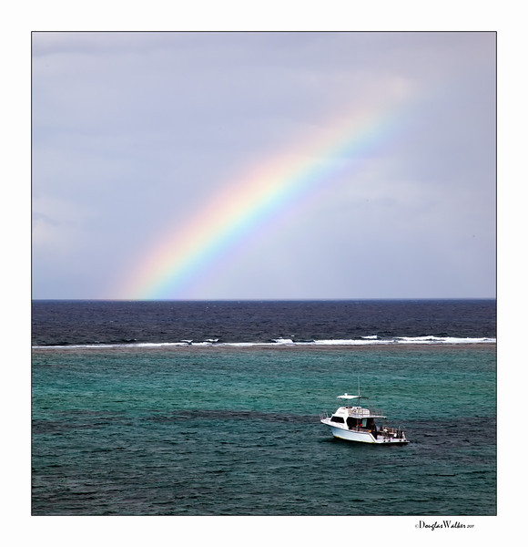 Rainbow at Morritt's - Grand Cayman