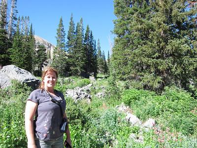 Cecret Lake hike with Robin 8 12 2010