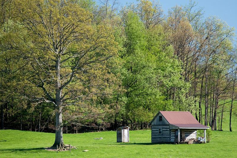 Shepherd's Cabin<br /> Shepherd's Cabin, Dutch Corner, Bedford County, PA