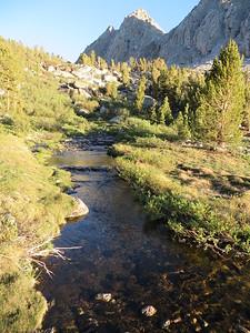 Stream draining from upper Kearsarge Lakes