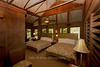 Cabana bedroom at Chan Chich Resort
