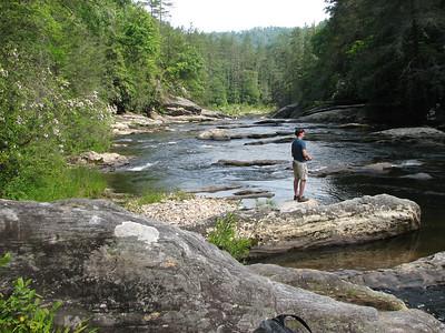 Chattooga Fishing Trip