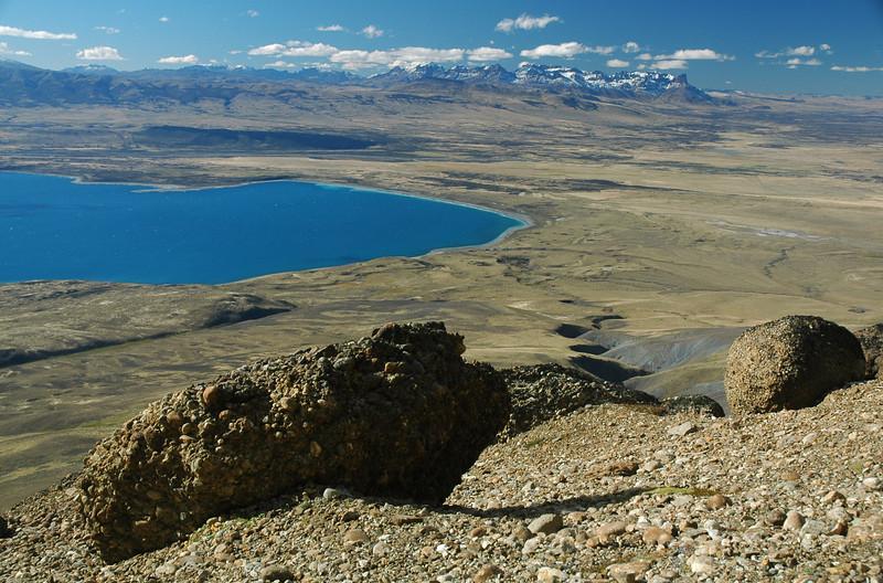 Lago Sarmiento from Sierra del Toro