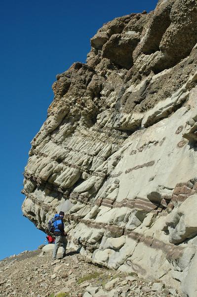 Deep-water conglomerates & sandstones, Cerro Toro Formation