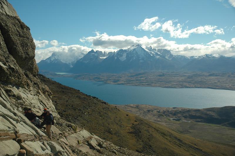 On Sierra del Toro, near Lago Sarmiento