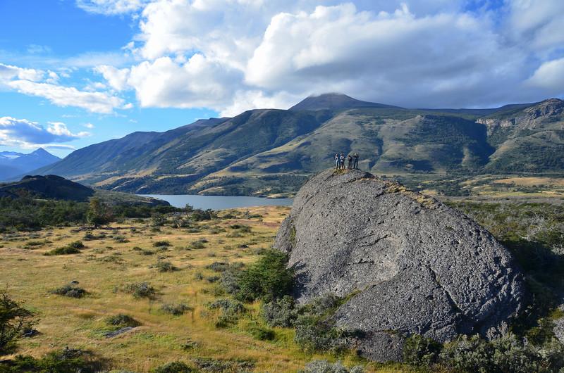 Conglomerate injection, Cerro Toro Formation, near Lago Sofia