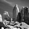 Torres del Paine, Ansel Adams style