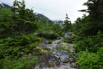 Early morning on Summit Day, Chilkoot Trail