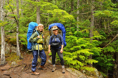 Julie & Suz on Chilkoot Trail