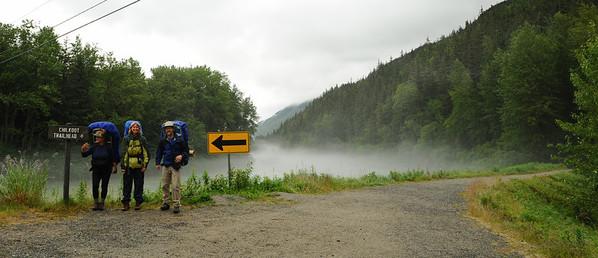 Chilkoot Trail trailhead