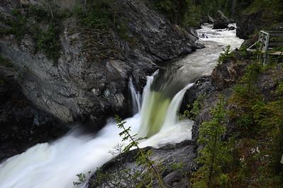 Million Dollar Falls, Yukon Territory