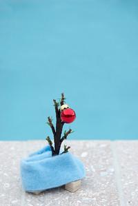 Mini C. Brown Christmas Tree