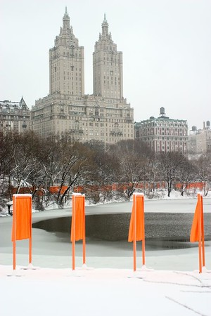 Feb 2004: Christo's Central Park Gates