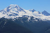 Mount Baker and her various peaks.